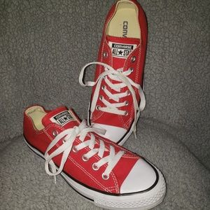 Converse Red Tennis Shoes